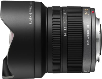 Lumix G Vario 7-14 mm/F 4.0 ASPH. Micro 4/3 Digital Interchangeable Lens