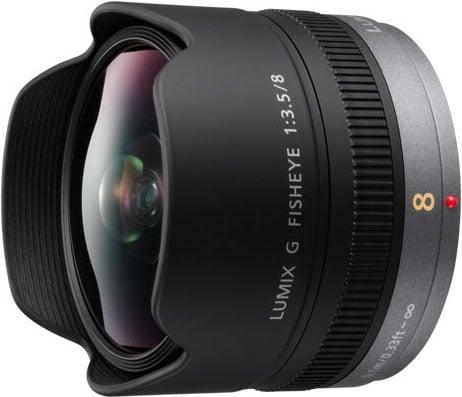 Lumix G Fisheye 8mm/F3.5 Lens