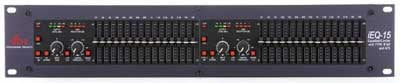 Graphic EQ Dual 15-Band with AFS