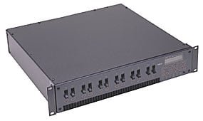 12 Channel, 1200 Watts Per Channel Stage Pin Outputs