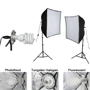 Light Kit Econ Softbox 2-Light (408086)
