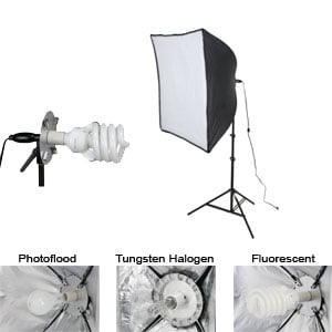 Light Kit, Economy Softbox, 1-Light (408085)