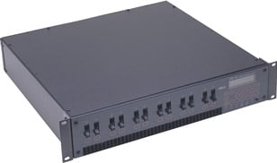 DS 12-24 12-Channel, 2.4 kW/CH Dimming System with Edison Output Panel