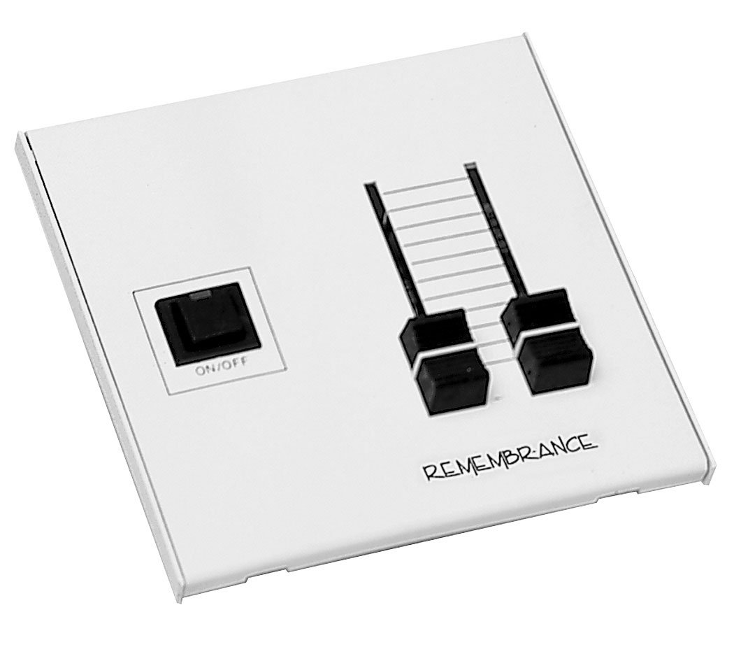 2-Slider Analog Remembrance Wall-Mount Controller