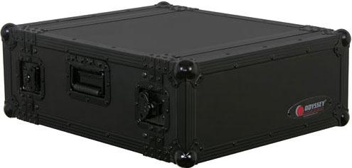 Black Label Series 4 RU Amp Rack Case
