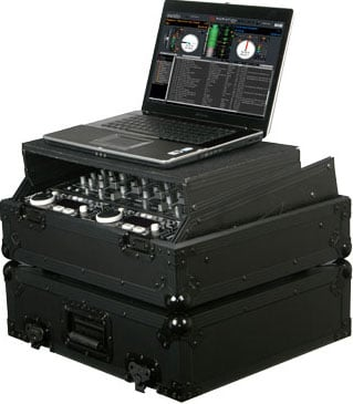 "Black Label Series 19"" W, 10 RU Rack-Mount Mixer Case"