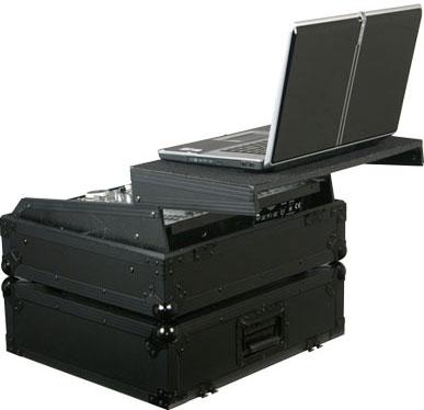 "Black Label Series 19"" W, 10 RU Rack-Mount Mixer Case"