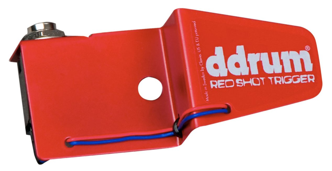 "ddrum REDSHOT-S/T Snare Drum / Tom Trigger with 1/4"" Connection REDSHOT-S/T"