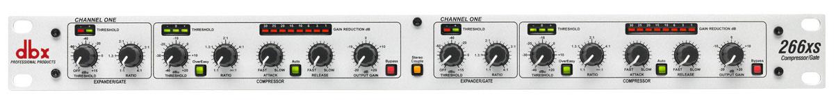 DBX 266xs 2-Channel Compressor / Expander / Gate 266XS