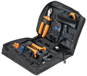 12-Piece CoaxReady™ Compression Toolkit with Zippered Case
