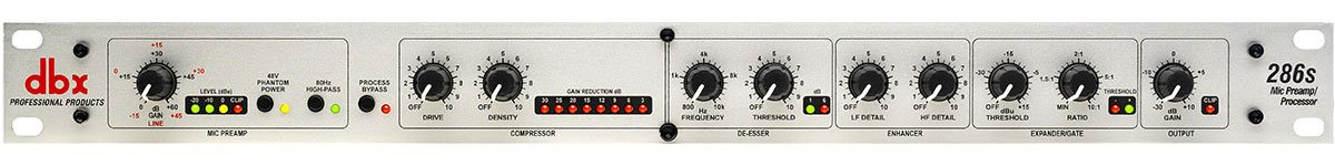 Microphone Channel Strip Processor