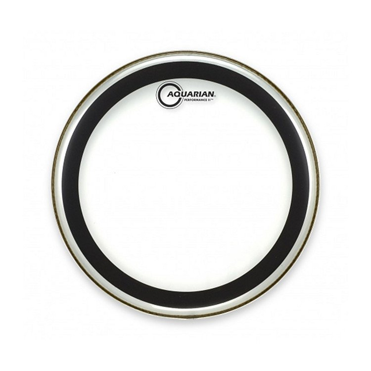 "Aquarian Drumheads PF14 14""  Performance II Two-Ply Clear Drum Head PF14"