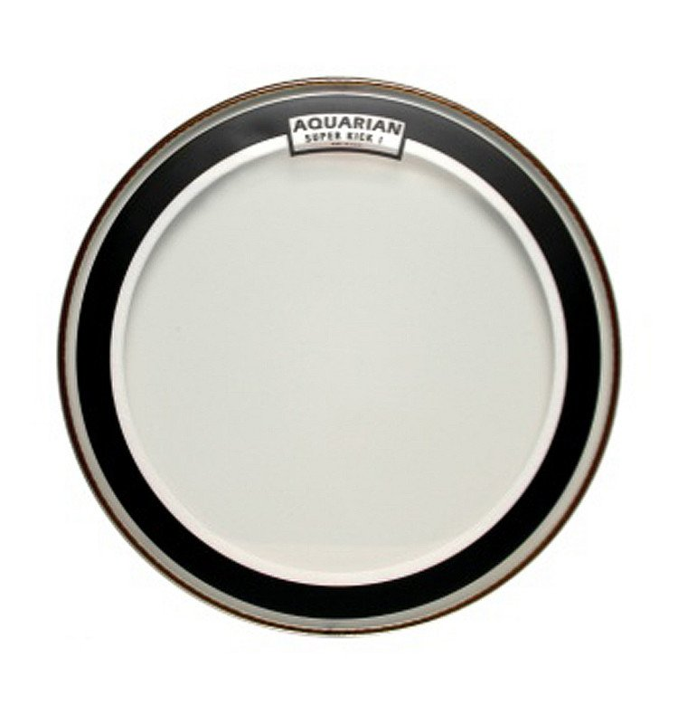 "22"" Super-Kick I Clear Bass Drum Head"