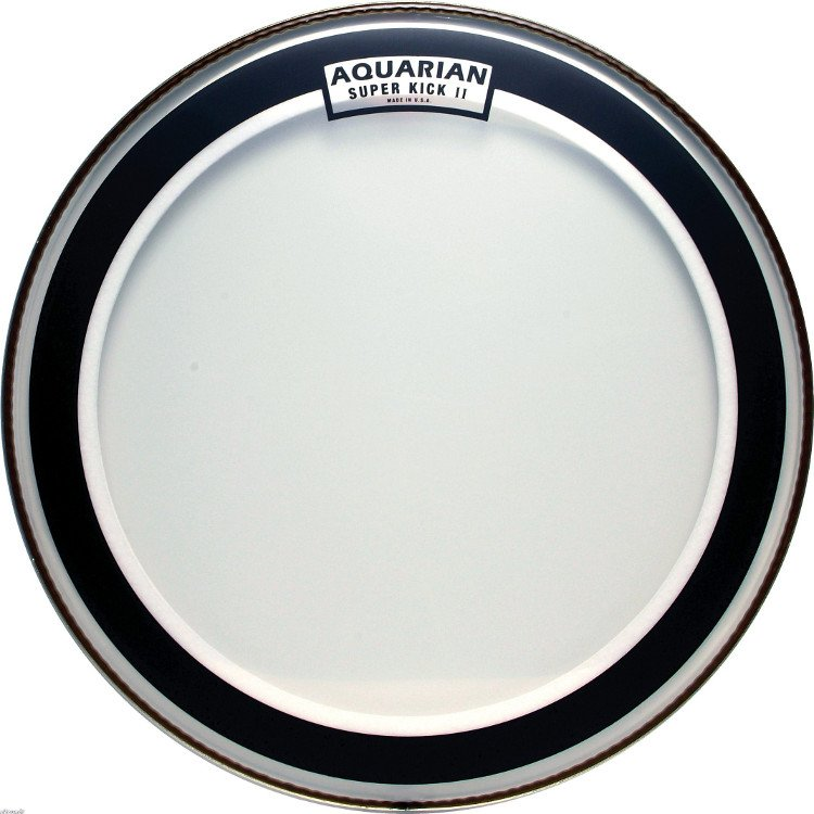 "22"" Super-Kick II Two-Ply Clear Bass Drum Head"