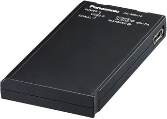 Panasonic MSU10SSD AG-MSU10 with MBX10-SSD 256 GB Solid State Drive Included MSU10SSD