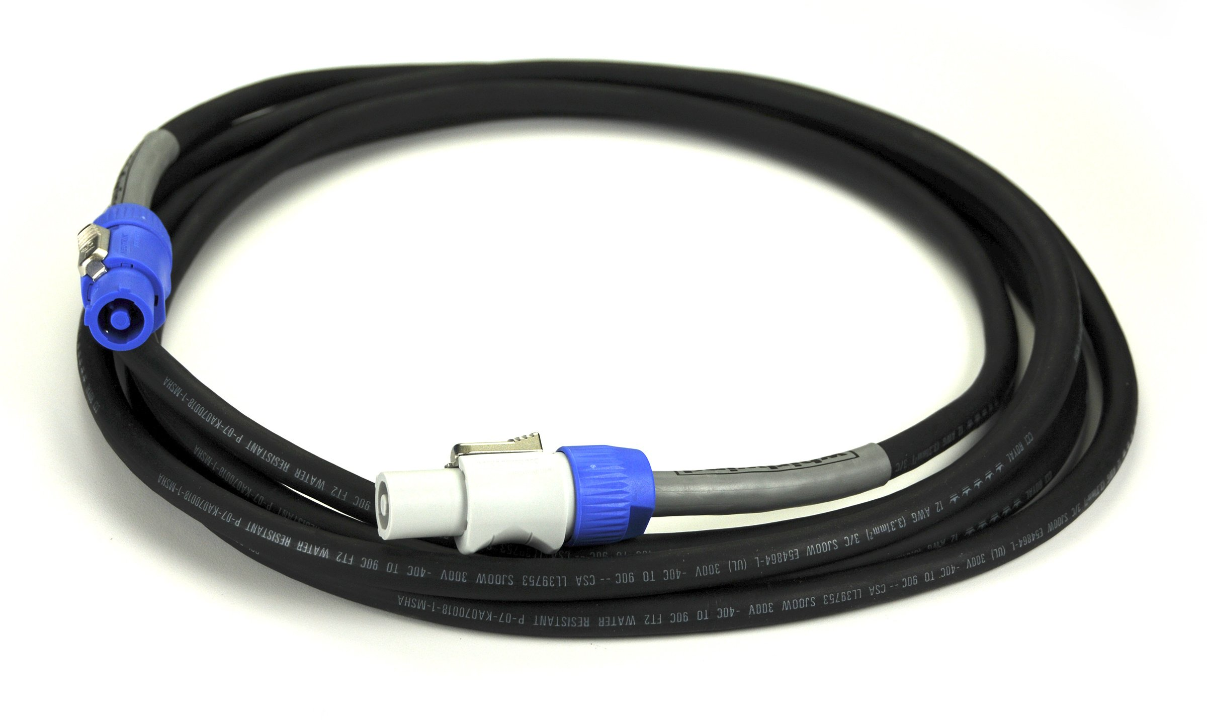 Cable AC Powercon 25ft