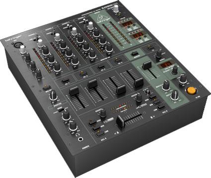 DJ Mixer 5ch w/USB Interface