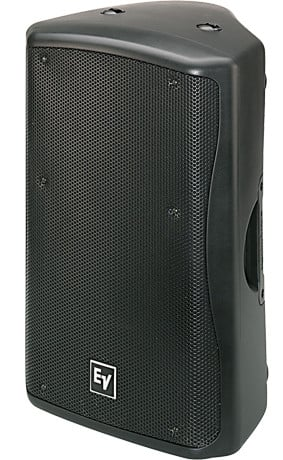 "15"" 2-way Passive 60°x60° 600W Loudspeaker, Black"