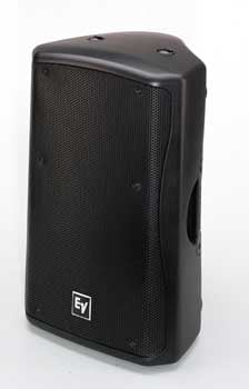 "15"" 2-way Passive 60°x60° 600W Speaker System, White (Black shown)"
