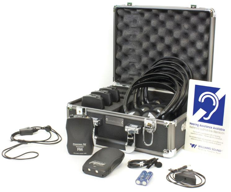 Williams Sound Fm Ada Kit 37 Portable Listening System Ada