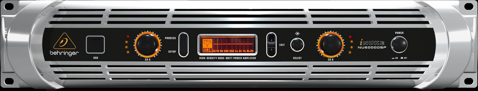 iNuke 2 x 3000 Watts @ 4 Ohms Amplifier with DSP