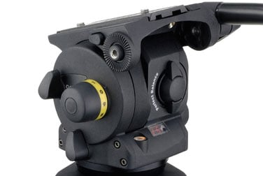 Vision 100 Pan & Tilt Head Black