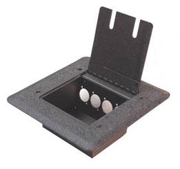 Floor Pocket Mounts 4WC Conn