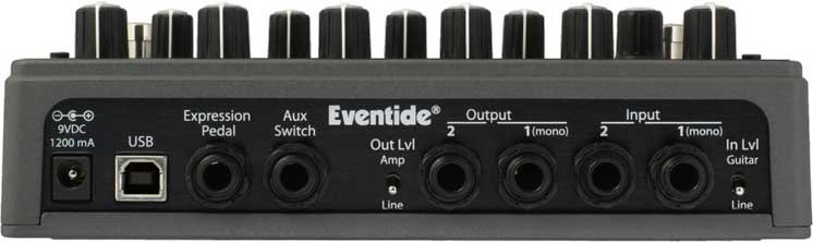 Eventide SPACE Stompbox, Reverb Effects SPACE