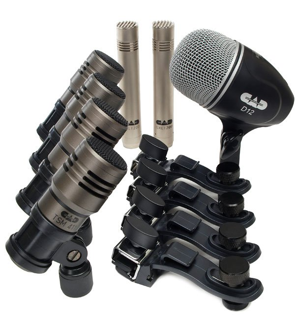 cad audio touring7 drum microphone package 7 microphones full compass systems. Black Bedroom Furniture Sets. Home Design Ideas