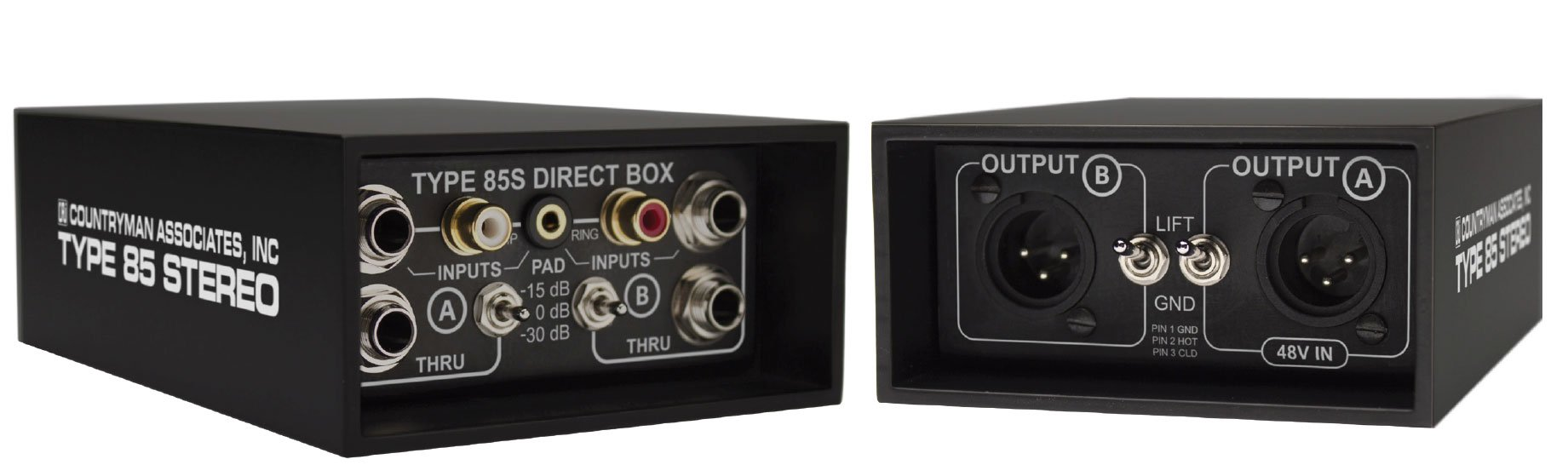 Type 85S 2-Channel FET Direct Box