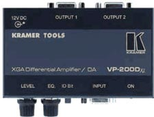XGA Differential Amp / Distribution Amp