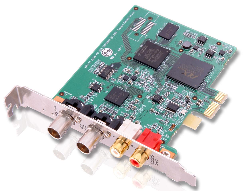 PCI Express Card HD/SD-SDI