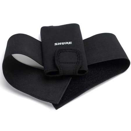 Black Cloth Pouch for UR1 Bodypack Transmitter