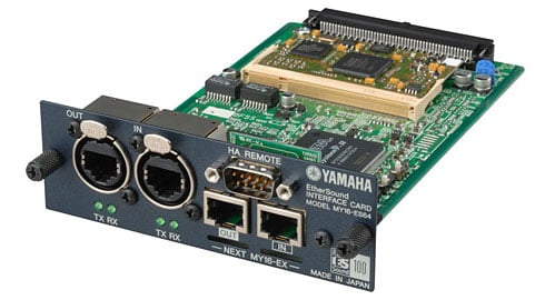 16-Channel EtherSound Card