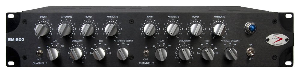 Dual Mono 3-Band Pultec-Style Equalizer