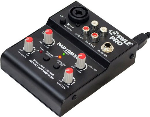 2-Channel USB Mixer