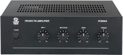 60W Power Amplifier with 25 & 70 V Output