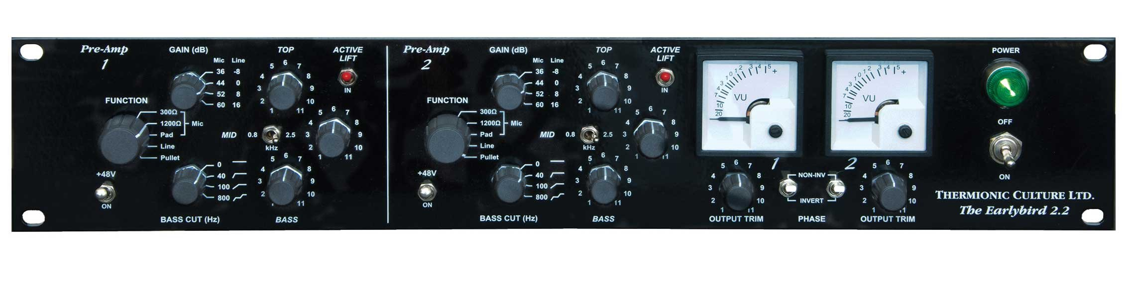 Dual Channel Preamp with EQ