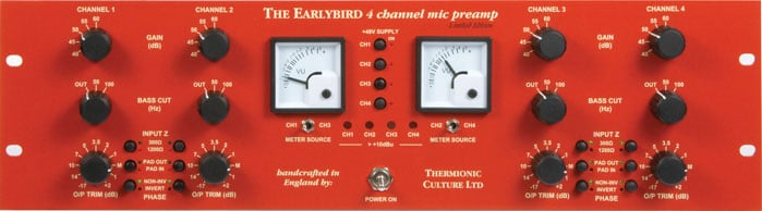 4 Channel Preamp with EQ