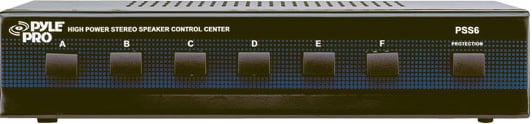 6-Zone Speaker Switcher