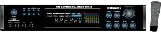 1000W Tuner/Amplifier with 70V Output