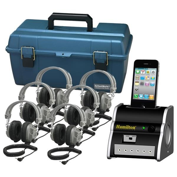 6-Person Listening Center with iPod Dock