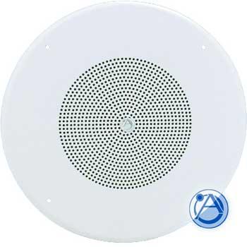 """25W Speaker & Baffle - 8"""" Dual Cone, 25/70.7V"""