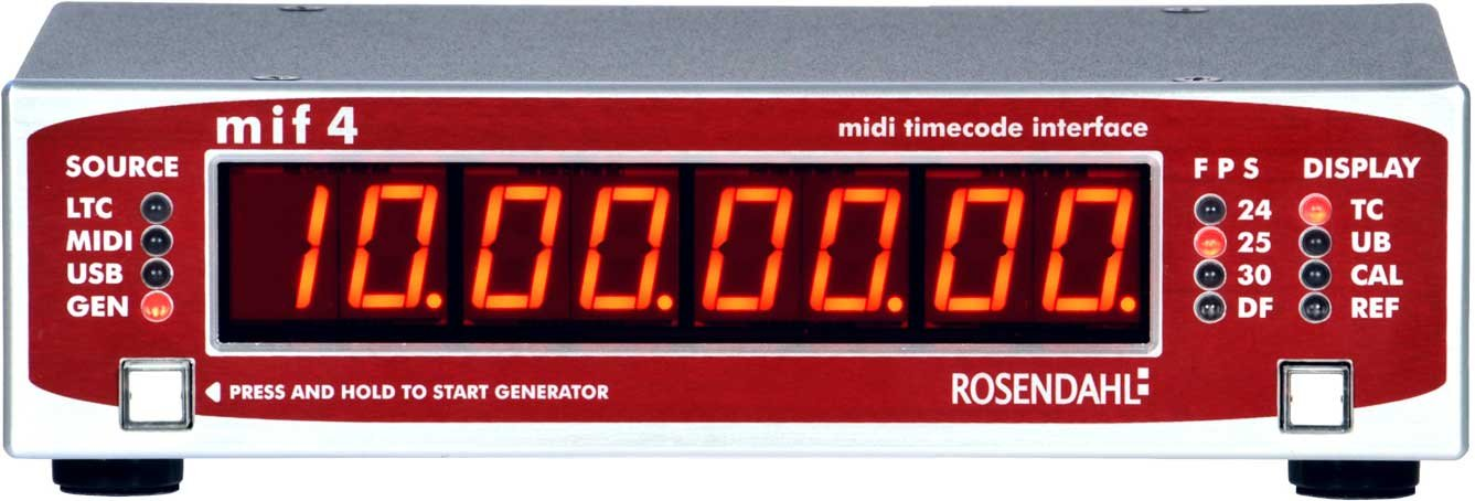 MIF4 MIDI Time Code Interface
