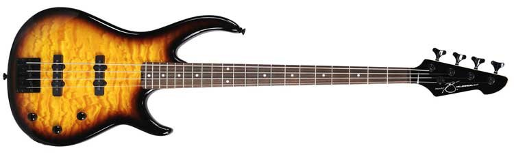 Peavey Millennium 4 BXP 4-String Passive Electric Bass Guitar in Transparent Finishes MILL4-BXP-TRANS