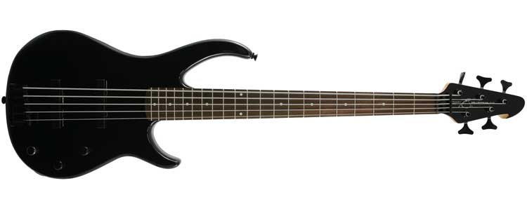 5-String Passive Electric Bass Guitar in Solid Finishes
