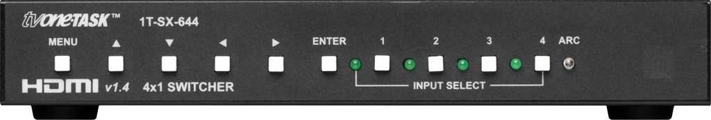 Switcher 4x1 HDMI v1.4