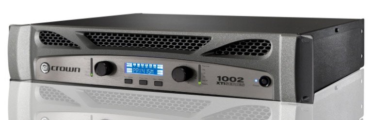 Crown XTi 1002 Power Amplifier - 500W @ 4 Ohms XTI1002