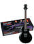 Jumpstart Guitar Package, GART30B Electric Guitar, Black Night finish