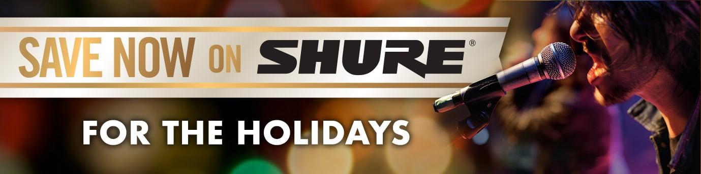 SHURE - Holiday Rebates